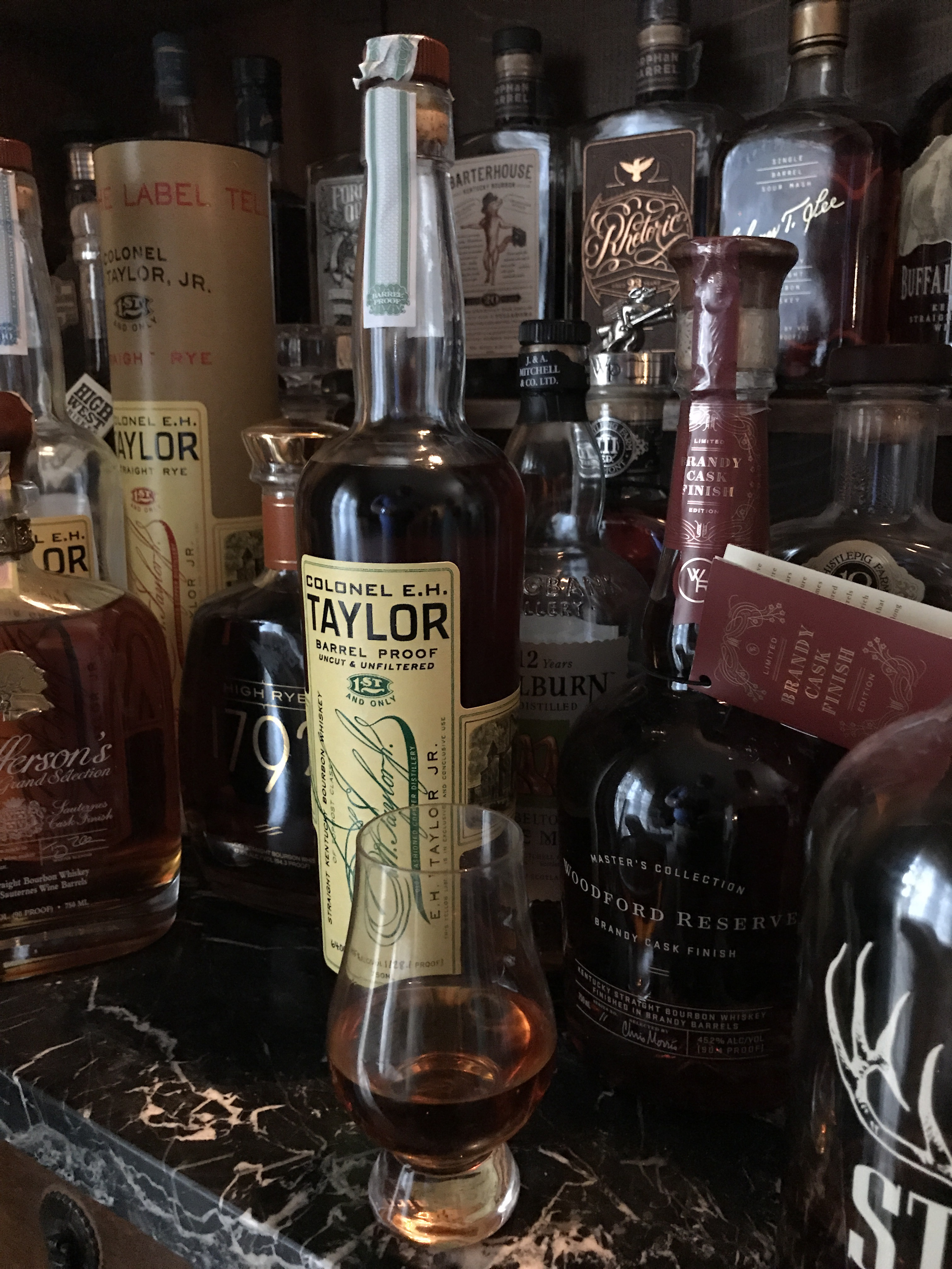 col e h taylor barrel proof all that and a bucket of southern